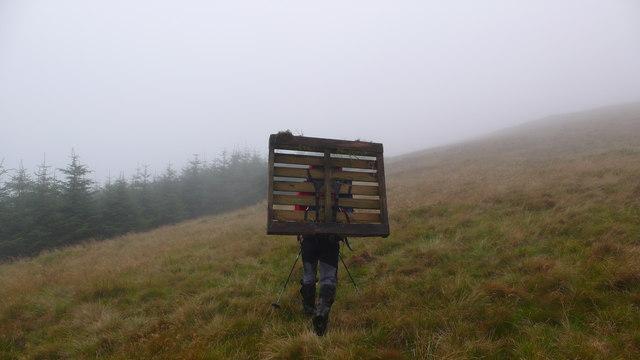 W ridge of Keoch Rig