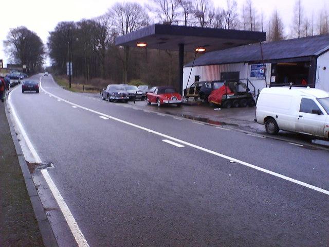 Ex Hopper Lane Service Station