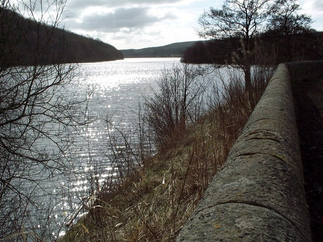 Looking south over Tunstall Reservoir