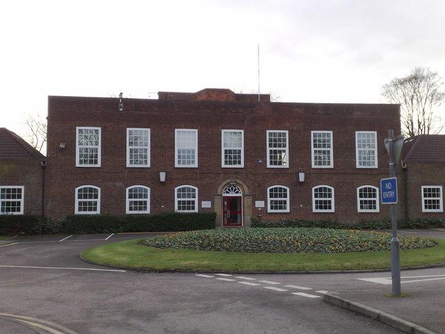 Finance Office on Cranfield Campus