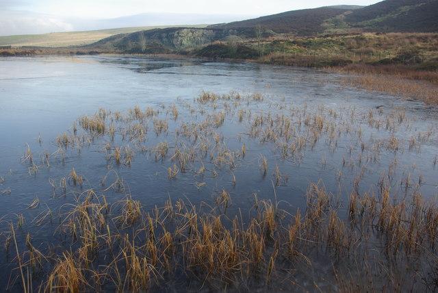 Reservoir on Lambrigg Fell