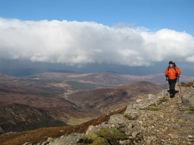 Stalkers Path on Carn Chuinneag