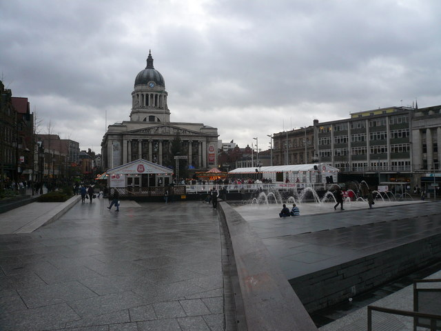 Council House, Fountains and Ice Rink