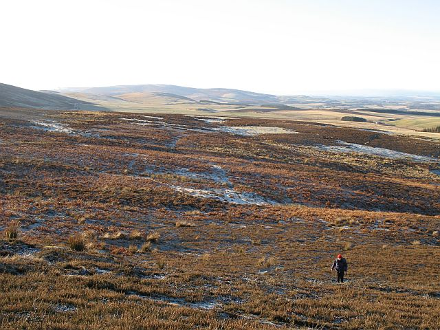 Moorland on Rangely Kip