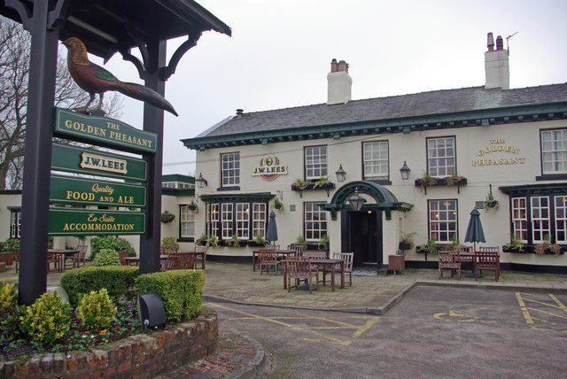 The Golden Pheasant, Plumley