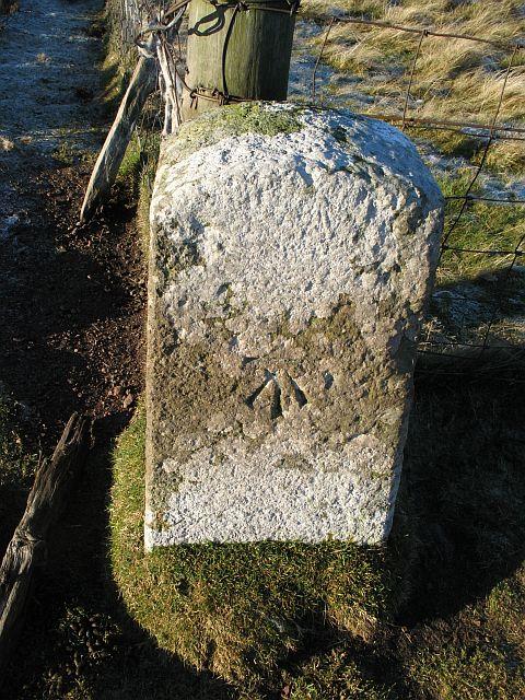 Boundary stone, Rangely Kip