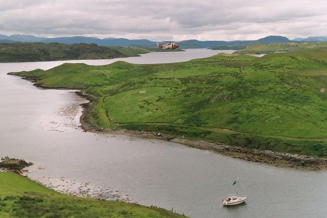 Loch Erisort from Crobeag