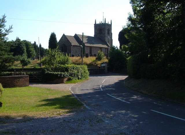 All Saints church, Chebsey