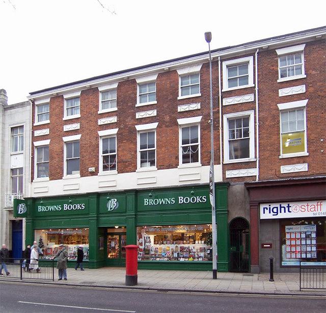 Browns Books, George Street, Hull