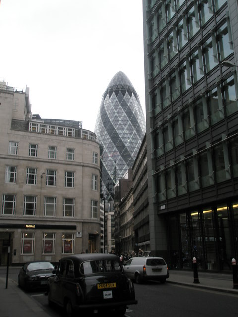 Junction of Mark Lane and Fenchurch Street