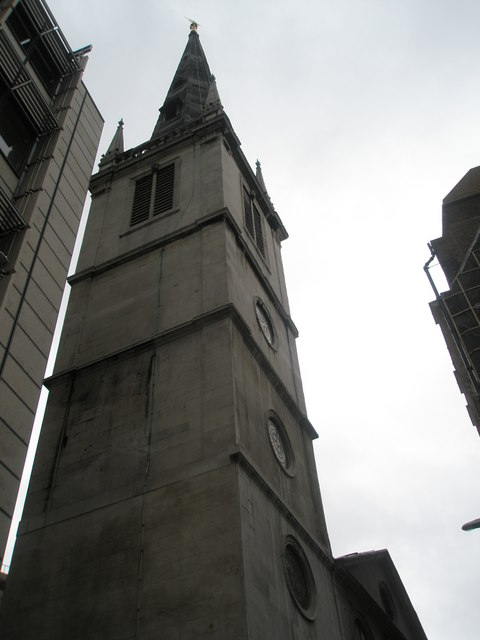 Spire of St Margaret Pattens