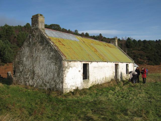 Ruined cottage of Coag