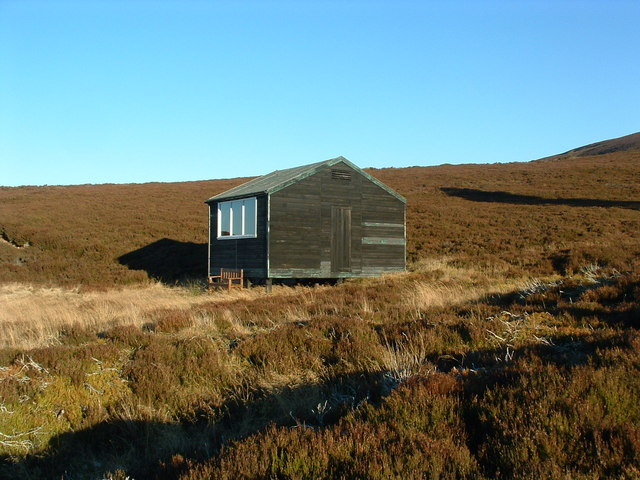 The shooters' hut