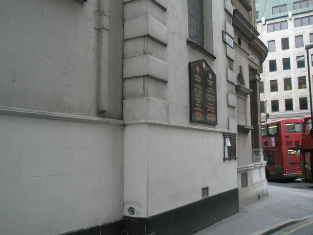 Entrance to St Clement Eastcheap