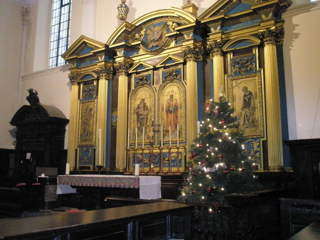 Altar at St Clement Eastcheap