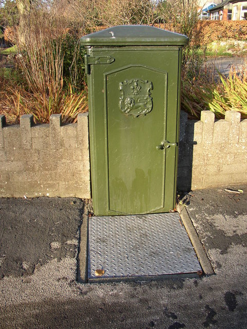 Utility cabinet, Prospect Drive, Hest