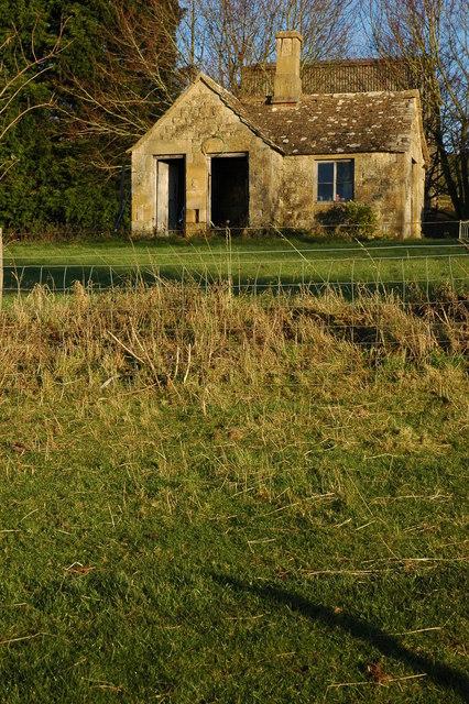 Garden shed at Farmcote
