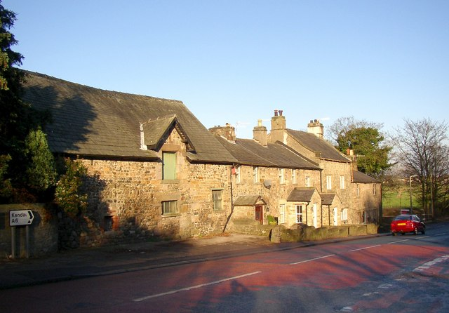 Farm building and cottages, Slyne, Slyne with Hest