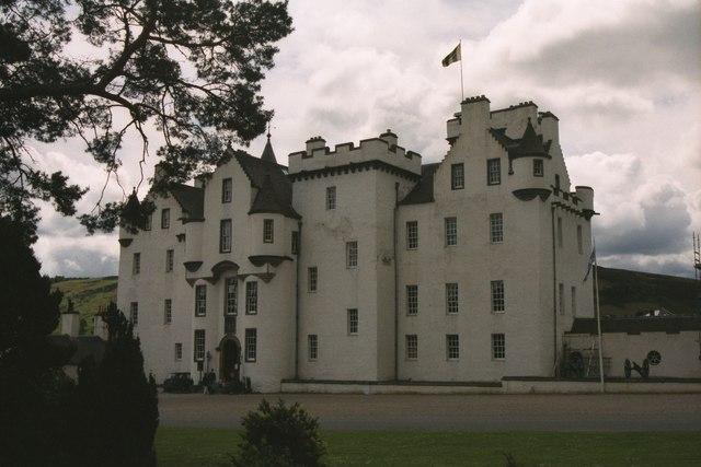 A Cloudy Blair Castle