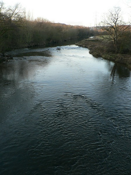 River Aire from the Pack Horse Bridge