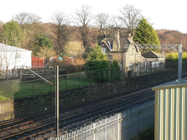 Railway from Calverley Lane bridge