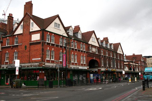 Spitalfields Market, Commercial Street, East London