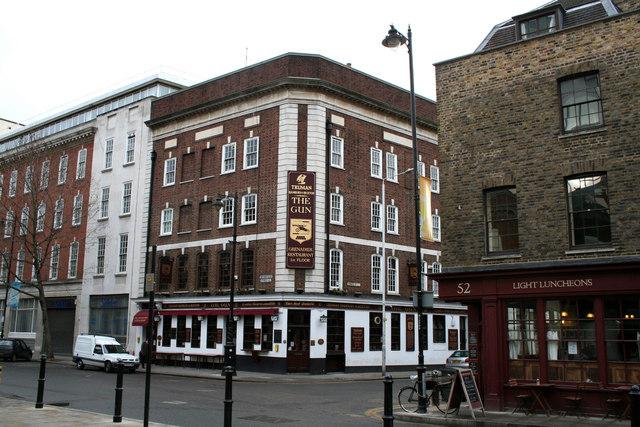 The 'Gun', Brushfield Street
