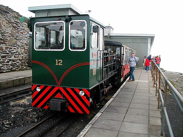 Snowdon Mountain Railway - old station