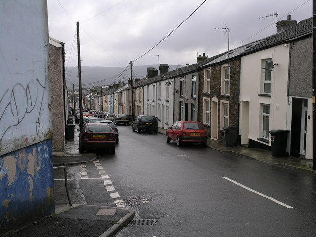 Francis Street, Dowlais