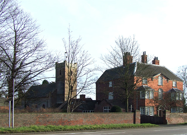 Himley Church and Rectory, Staffordshire