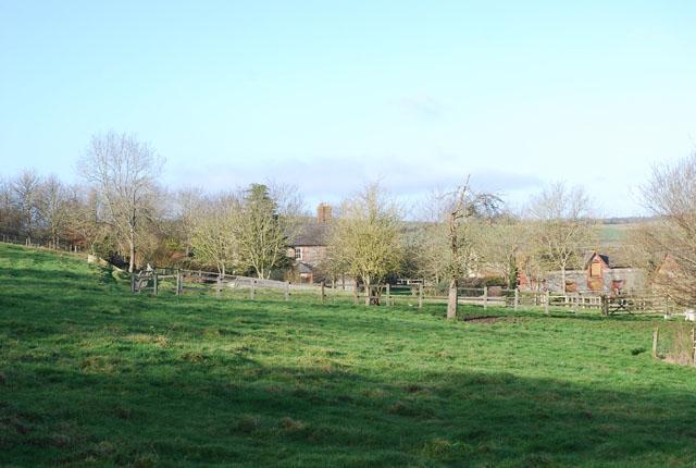 View of Woodminton Farm