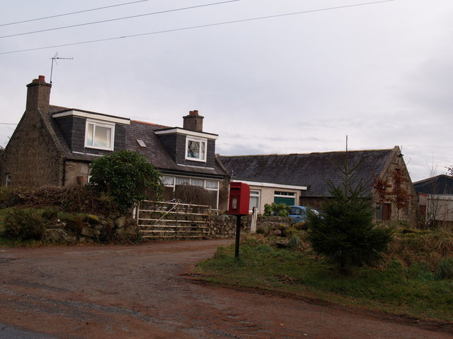 The post office at Blindburn