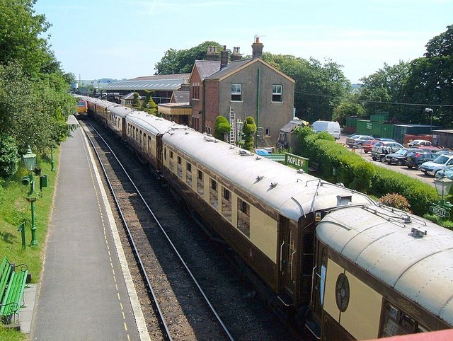 Orient Express Train at Ropley Station.