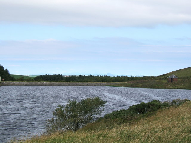 Knockquhassen Reservoir near Stranraer