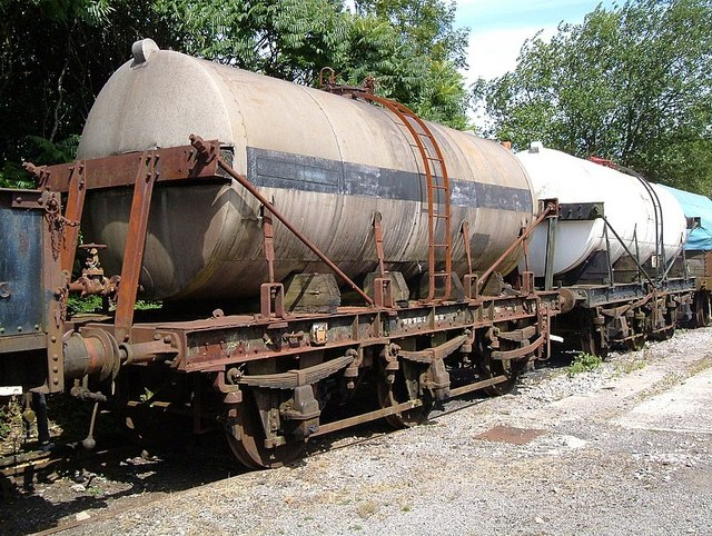 Milk Tank Wagons.