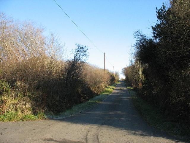 Minor access road