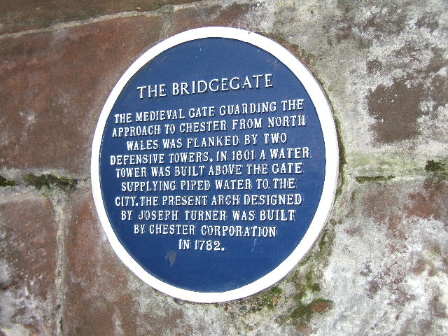 The Bridgegate Information sign