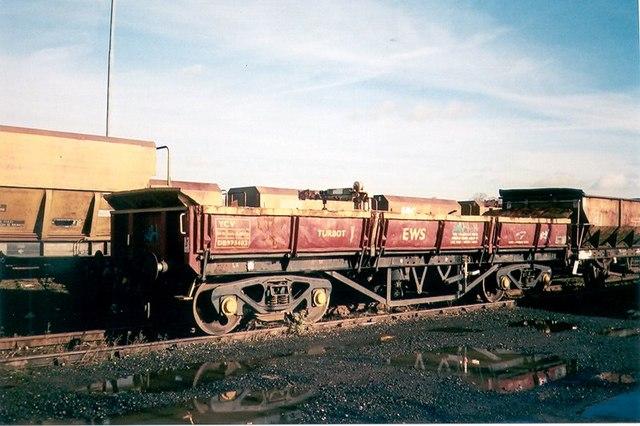 Wagon at Fairwater Yard.