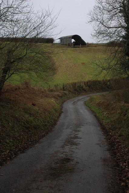Barn near Mariansleigh