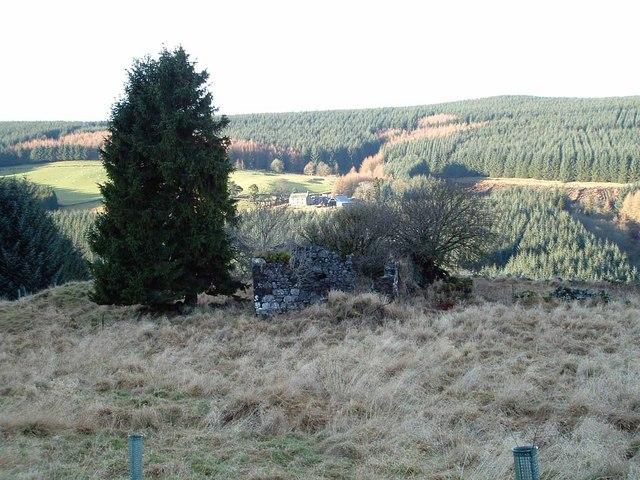 Ruins of Rashiehill Farm
