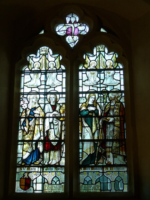 Pyrford Church - East Window