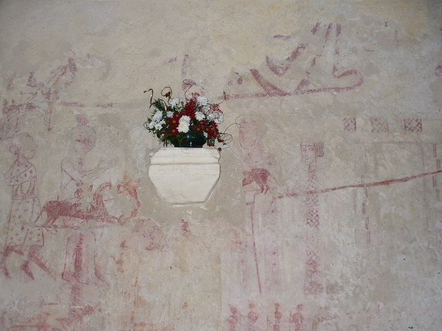 Pyrford Church - Wall Paintings