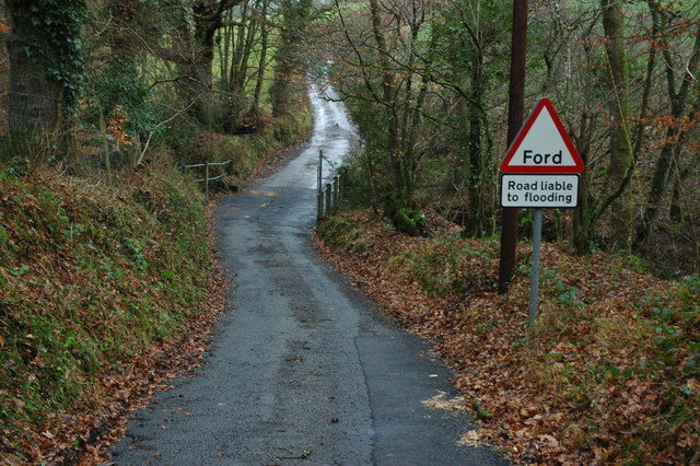 Ford at the bottom of Buckham Hill