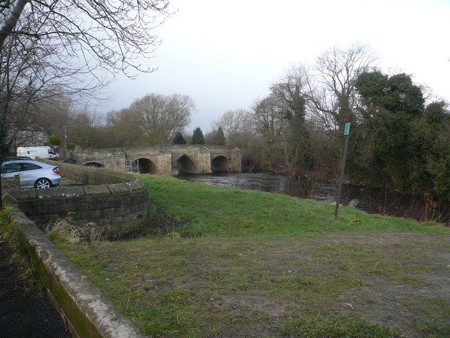 B5057 Crosses River Derwent at Darley Bridge