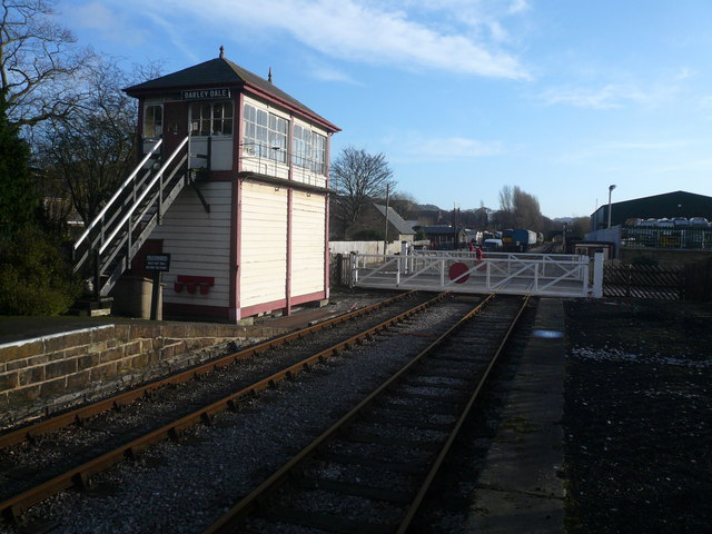 Darley Dale Signal Box and Level Crossing