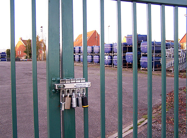 High security compound