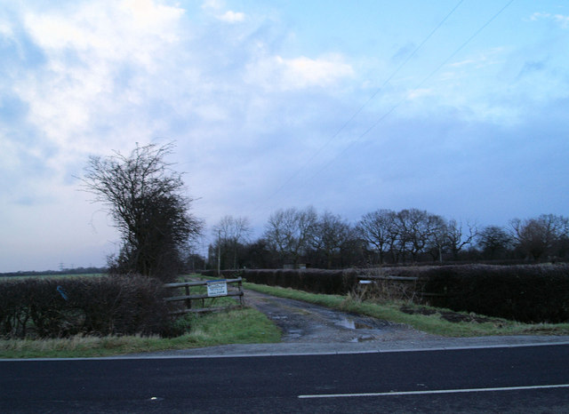 Entrance to Neville Hall Farm