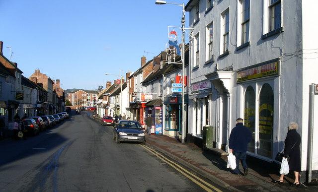 Pershore High Street