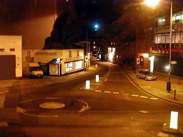 Bridge Street at night