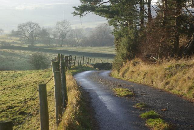 Lane near The Green